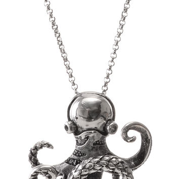 Steel Octopus Necklace