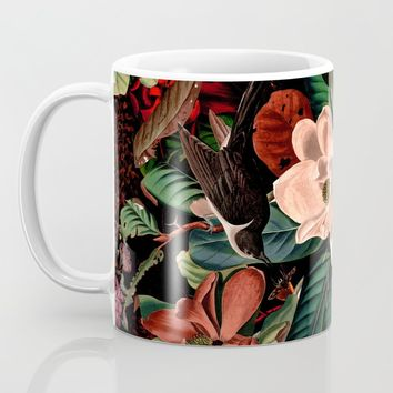 FLORAL AND BIRDS XIV Coffee Mug by burcukorkmazyurek