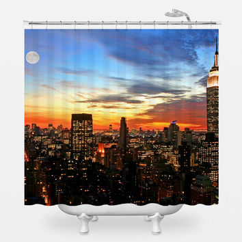 Midtown After Dark Shower Curtain