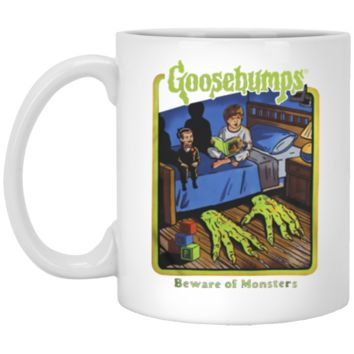 Goosebumps Beware of monsters Halloween Gift Mug Coffee Mug 11 oz Mug