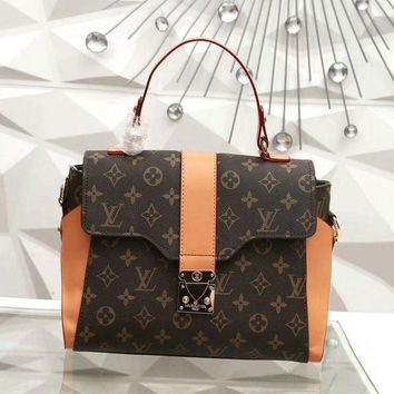 Louis Vuitton New Fashion Women Leather Satchel Shoulder Bag Handbag Crossbody
