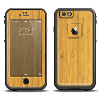 The Real Light Bamboo Wood LifeProof Case Skin (Other LifeProof Models Available!)
