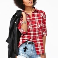 Plaid Pocket Shirt