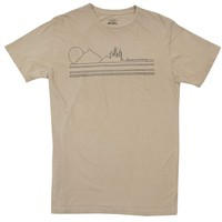 Have a Nice Trip embroidered khaki graphic tee