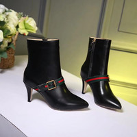 Gucci Women's Leather Fashion Boots