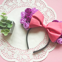 Rapunzel Inspired Minnie Ears by LovelyLittleEarful on Etsy