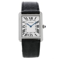 Cartier Tank Solo Large Stainless Steel Watch W1018355