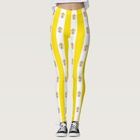 Leggings with flag of Vatican