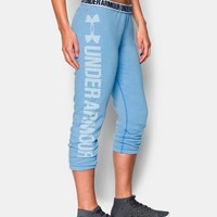 Women's UA Favorite Fleece Capri | Under Armour US