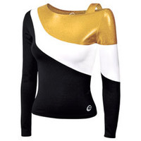 Makeover your Cheer Lineup with the Invitational Metallic Stretch Performance Cheerleading Uniform Top