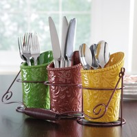Thanksgiving Harvest Utensil Holder