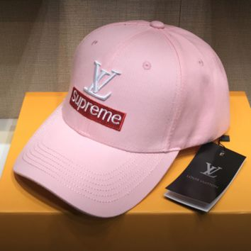 LV Embroidered Baseball Cap Hat