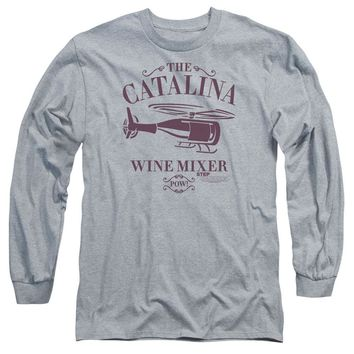 Step Brothers Long Sleeve Shirt Catalina Wine Mixer Athletic Heather