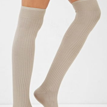 Ribbed Over-the-Knee Socks