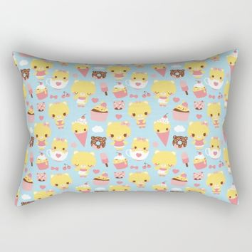 Sweet Pattern Rectangular Pillow by Pamela Barbieri