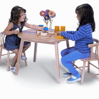 Whitney Brothers WB0180 - Table and Two Chair Set