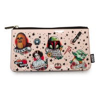 Star Wars Tattoo Flash Print Pencil Case - Pencil Cases