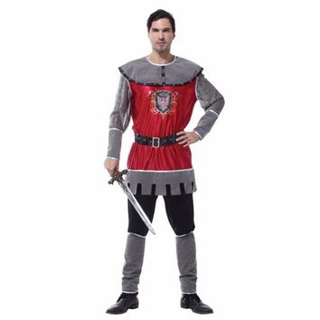 ONETOW Shanghai Story Adult Party Cosplay Costumes King of Rome Halloween Costumes for Men Medieval Warrior Carnival Costumes