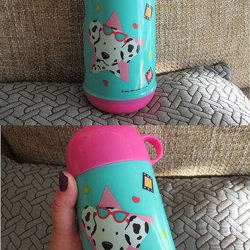 Vintage Sanrio Thermos - SPOTTY DOTTIE - Hello Kitty, Little Twin Stars