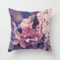 Tenderness Throw Pillow by Lisa Argyropoulos