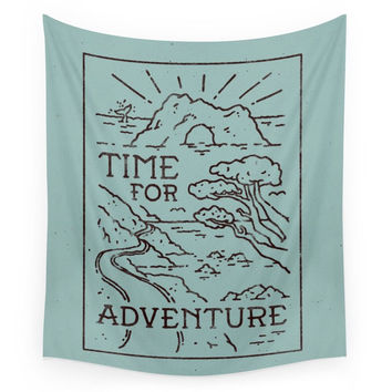 Society6 Time For Adventure Wall Tapestry