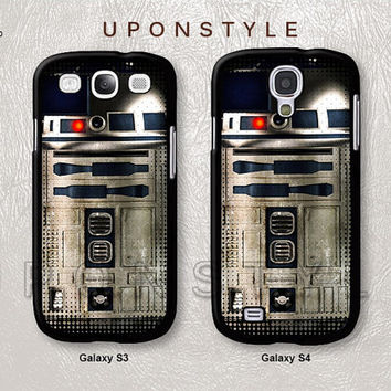 Samsung Galaxy S4 case, Galaxy S3 case, Star Wars R2 D2, Vintage case, Phone Cases, Phone Covers, Skins, Case for Samsung, Case No-90