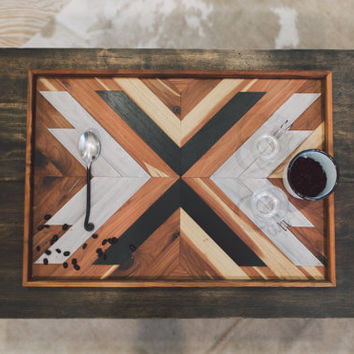 Slate Arrow Wooden Breakfast Tray