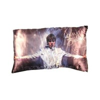 Justin Bieber Sings In Concert Decorative Pillow