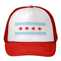Chicago Flag Trucker Hat from Zazzle.com