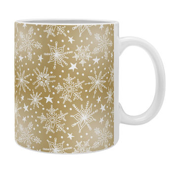 Heather Dutton Snow Squall Guilded Coffee Mug