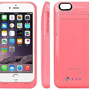 SGRICE® External Protective Battery Case for iphone 6(4.7),sgrice 3500mAh Extended power Case Back Up Power Bank for iPhone 6 Back Up (iOS 7 or above Compatible) , iPhone 6 Charger Case / iPhone 6 Charging Case Extended iPhone Charger Backup Power Bank Bat