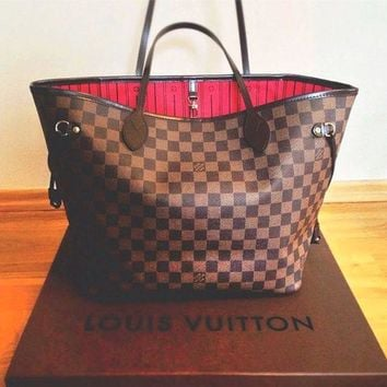 LV Tide brand women's classic wild large-capacity shopping bag shoulder bag mother bag two-piece