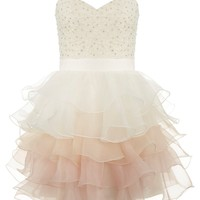 Lipsy V I P Ruffle Prom Dress