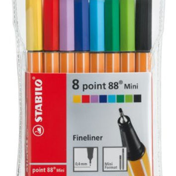 Stabilo Point 88 - Mini Set of 8