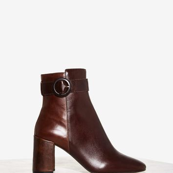 Jeffrey Campbell Hartford Leather Bootie