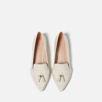 TASSELLED LOAFERS - Flats-SHOES-WOMAN | ZARA United Kingdom