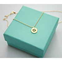 Dainty Cancer Necklace