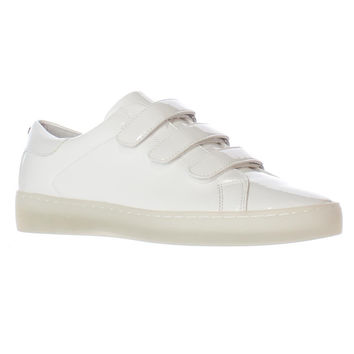 MICHAEL Michael Kors Craig Triple Strap Sneakers - Optic White