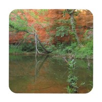 Canyon Pool Drink Coasters