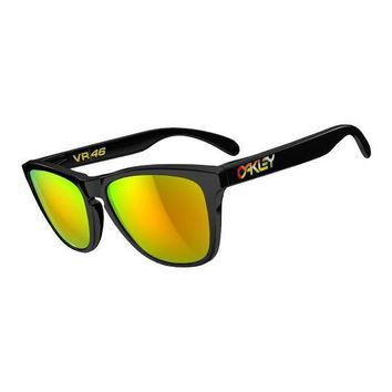 New Official VR46 Oakley Frogskin Sunglasses