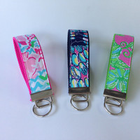 Lilly Pulitzer Key Fob Wristlet - Choose One
