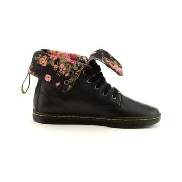 Womens Dr. Martens Eclectic Rolldown Boot, Black, at Journeys Shoes