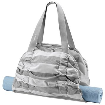 Reebok Women's Yoga Striped Duffle Bags | Official Reebok Store