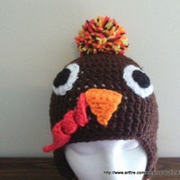 Turkey Hat For Newborns to Adults