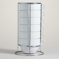 Stacking Jumbo Mugs Sets of 6 - World Market