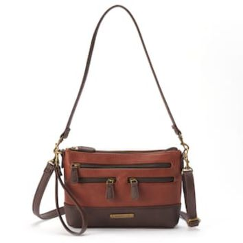 Stone & Co. Leather 4-Bagger Phone Charging Convertible Crossbody Bag | null