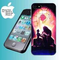 BEAUTY AND THE BEAST SHADOW iPhone Case And Samsung Galaxy Case