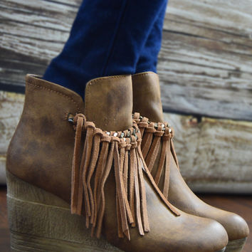 Tan Zepp Short Boot