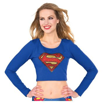 Supergirl Crop Top