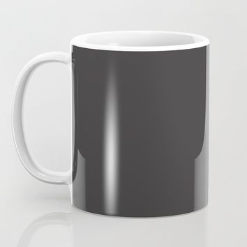 Midnight Black Coffee Mug by spaceandlines